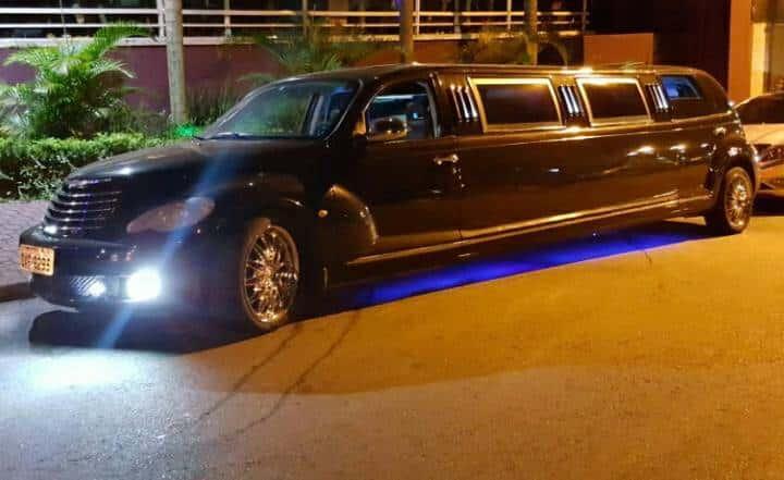 limousine para aniversário