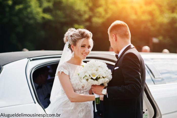 Aluguel de Limousine Para Casamento